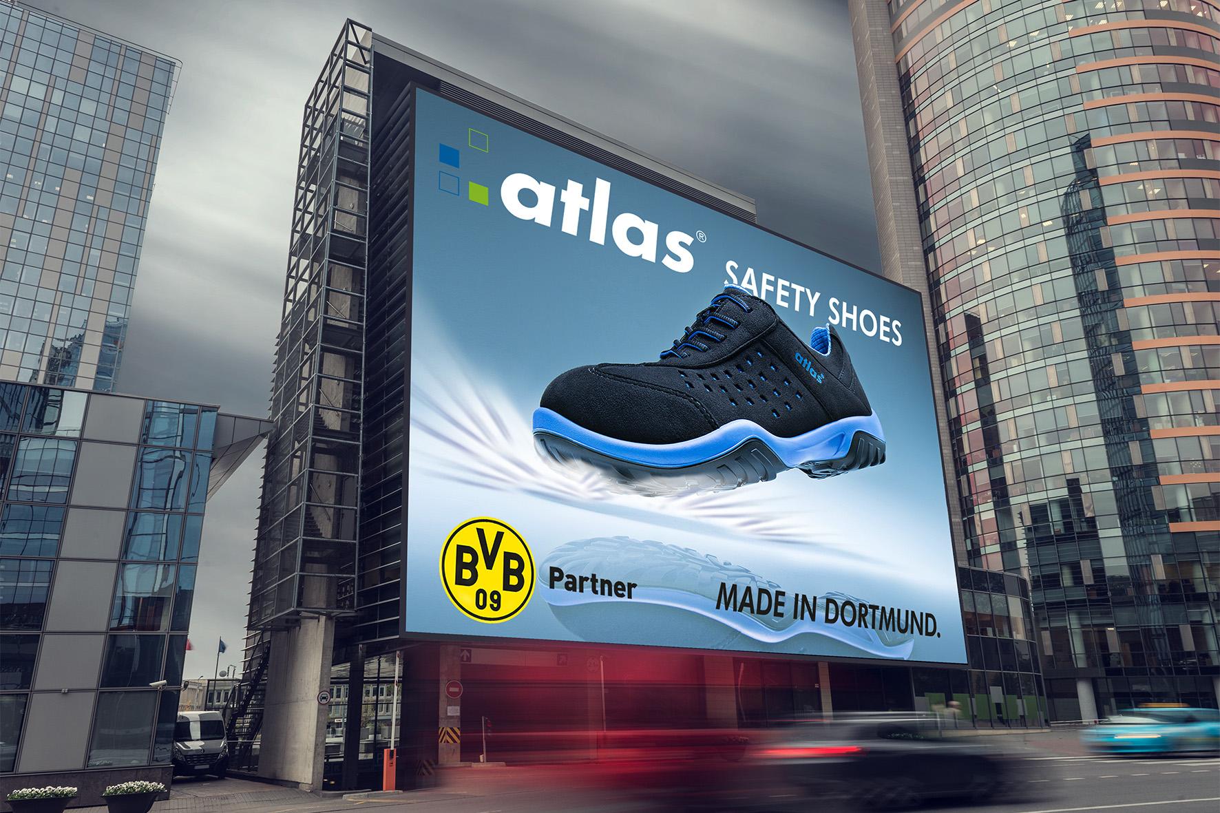 Atlas Schuhfabrik, Sicherheitsschuhe